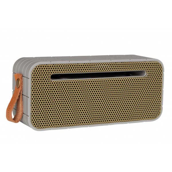 aMOVE, Cool Grey Bluetooth speaker w. power bank