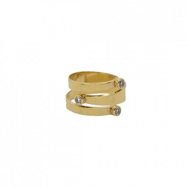 Mya Bay Ring - Double Snake