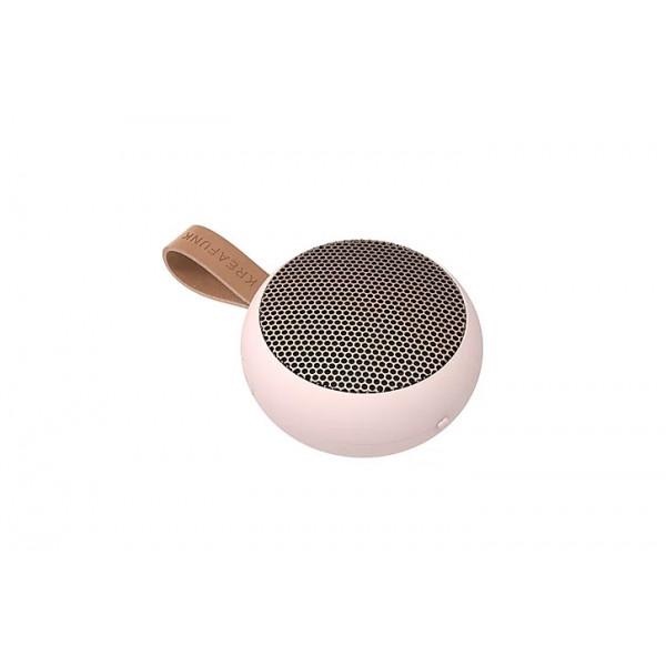 aGO, Dusty Pink Pocket-sized Bluetooth speaker