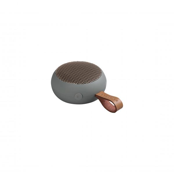 aGO, Cool Grey Pocket-sized Bluetooth speaker