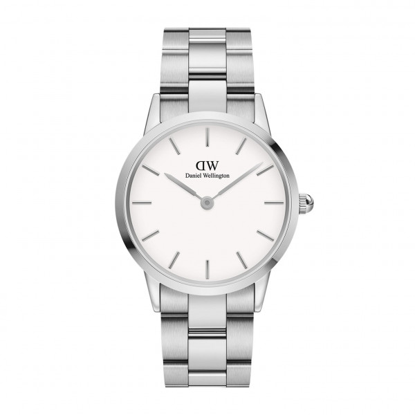 DW - Iconic Link Silver White 28MM | 32MM | 36MM | 40MM