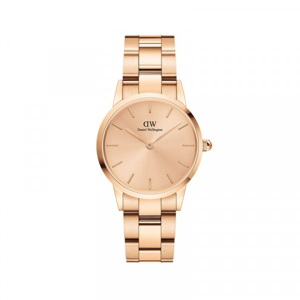 DW - Iconic Link Unitone Rose Gold 28mm