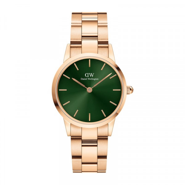 DW - Iconic Link Emerald Rose gold 28MM | 32MM | 36MM