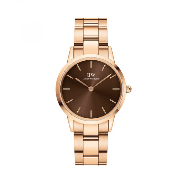 DW - Iconic Link Amber Rose gold 32MM | 36MM | 40MM