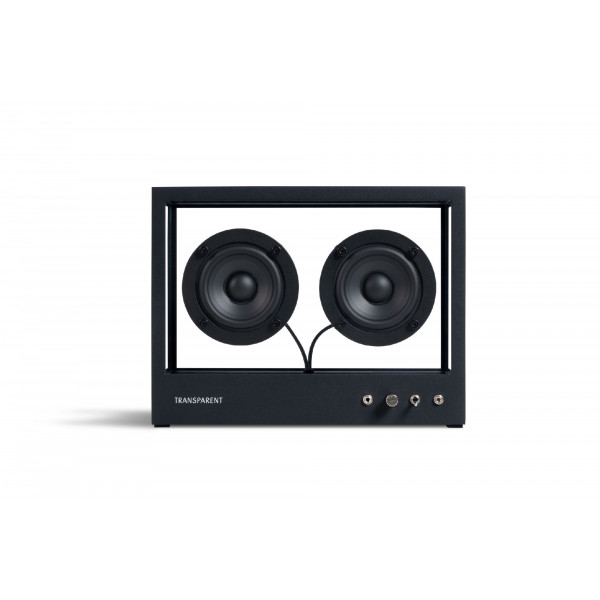 Small Transparent Speaker Black