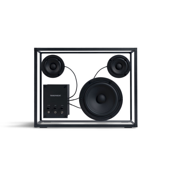Transparent Speaker Black