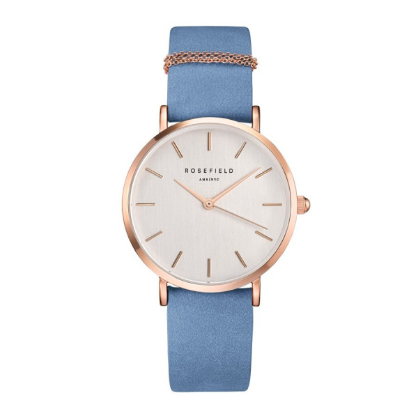 The West Village Airy Blue Rose gold